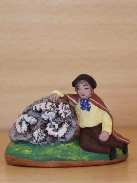 Le glaneur d'ammonites